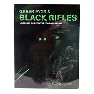 green eyes and black rifles