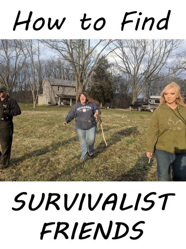 survivalist friends pinterest