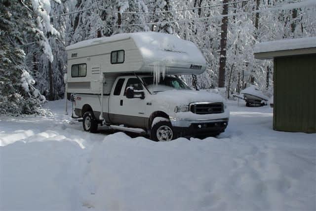 Lancesnow truck camper