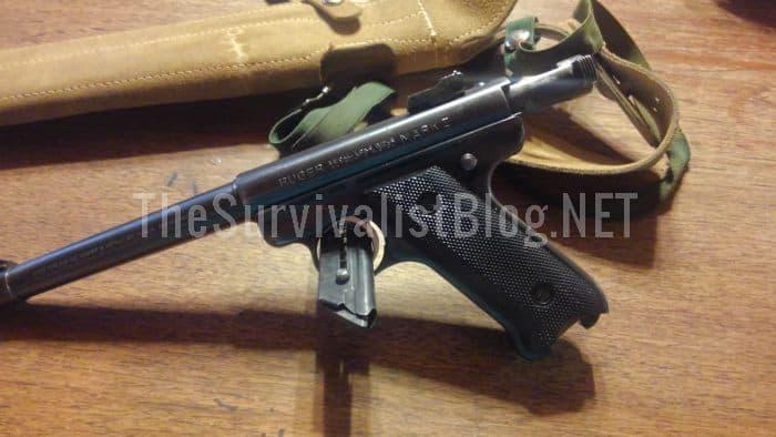 Ruger Mark I Pistol .22 LR 1