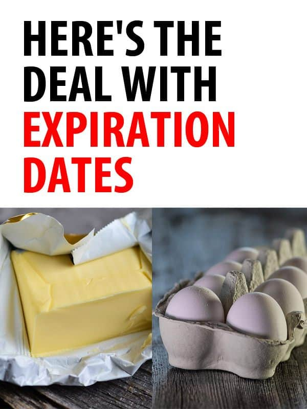 expiration dates pinterest