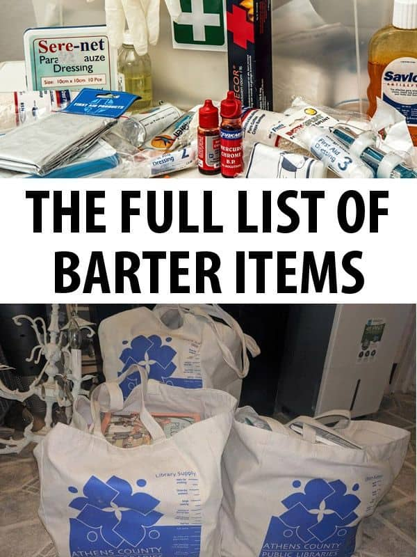 full list of bater items featured