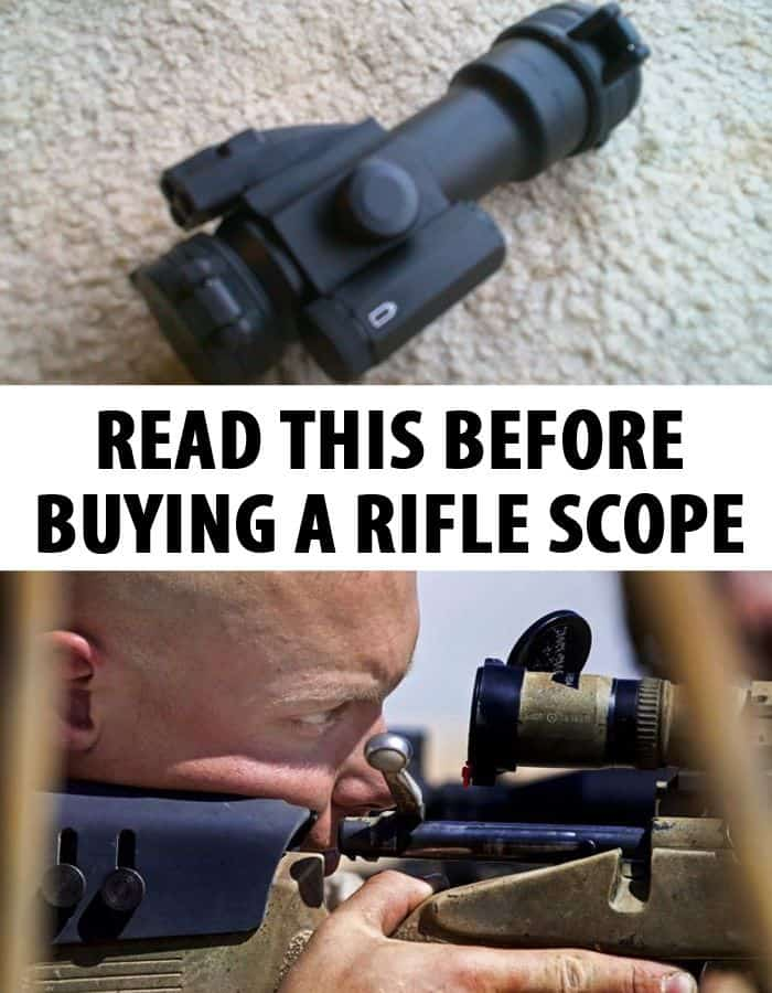 rifle scopes pinterest