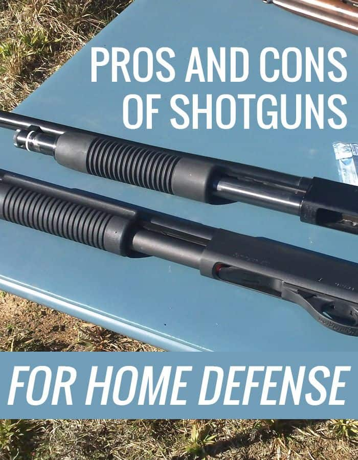 shotguns pros cons