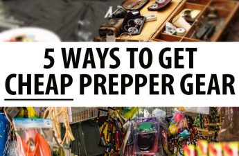 cheap prepper gear pin