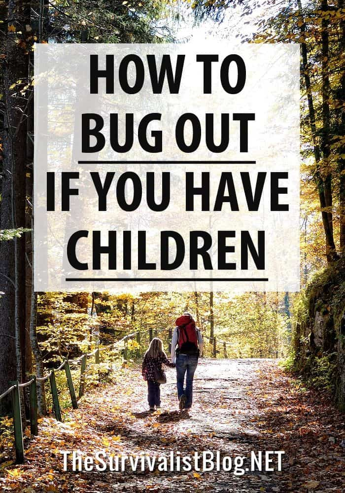 bugging out with children pinterest