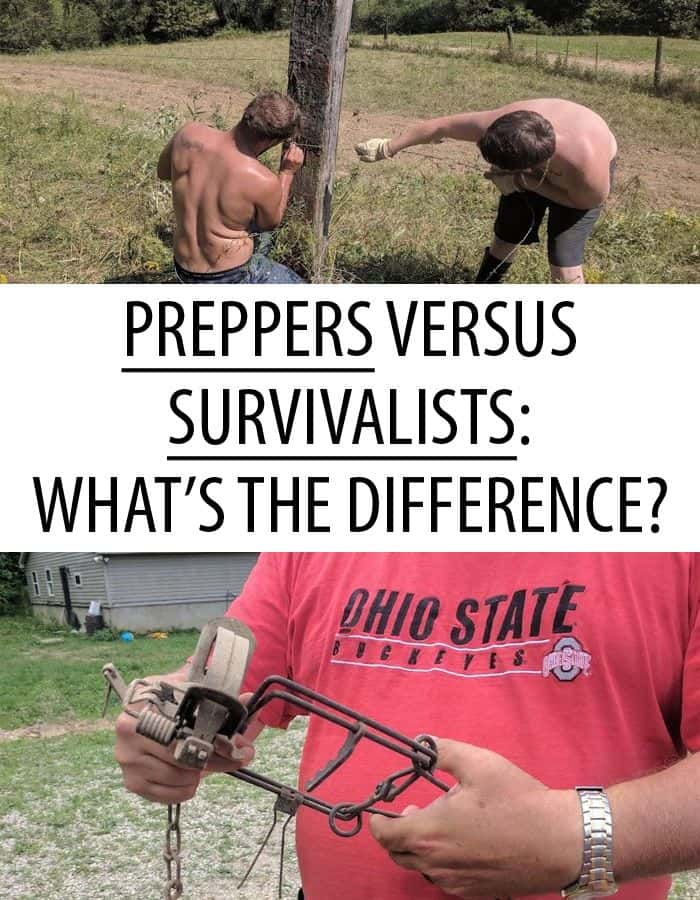preppers vs survivalists difference pinterest