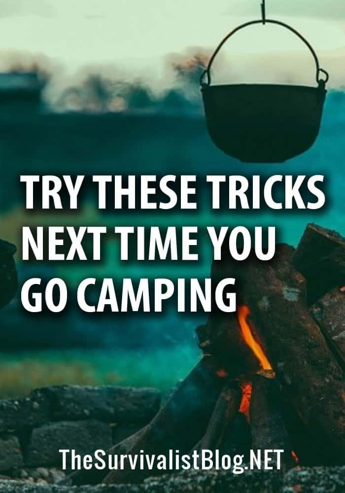 camping tricks pinterest