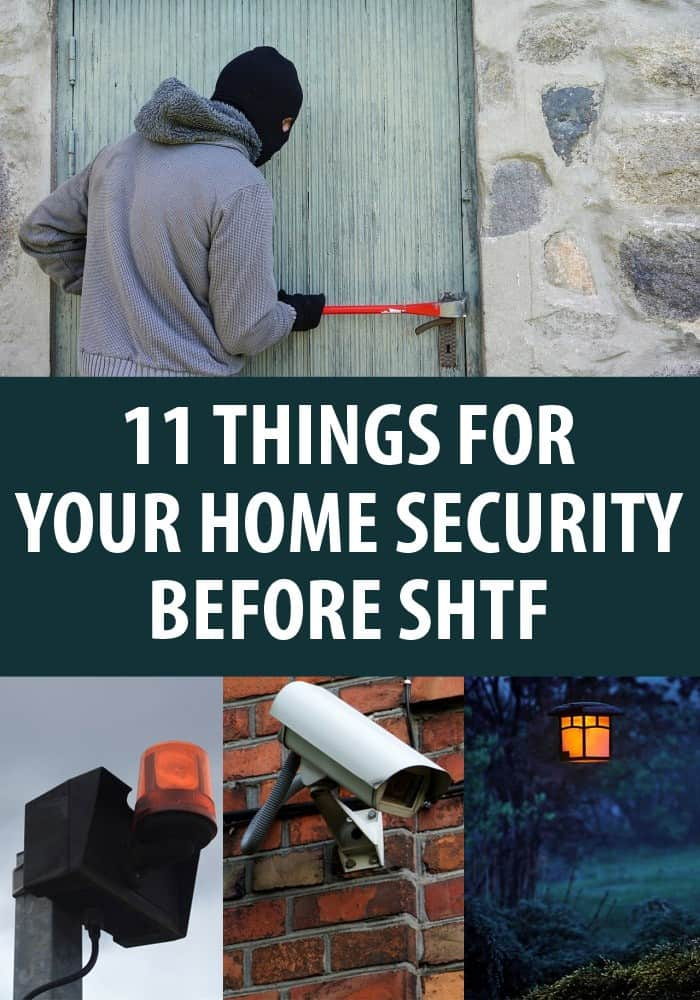 home security checklist pinterest