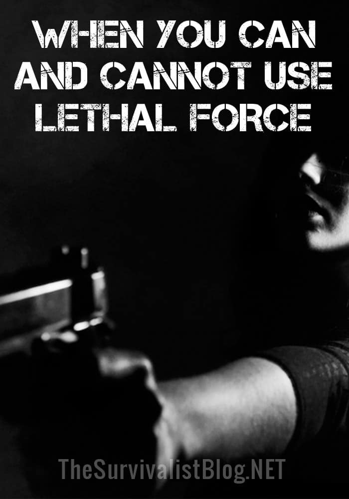 lethal force self defense pinterest