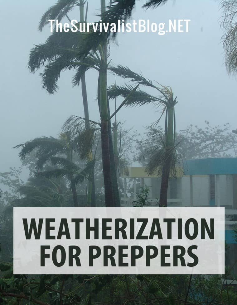 weatherization for preppers pinterest