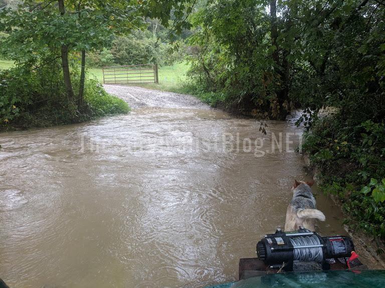 flooded homestead