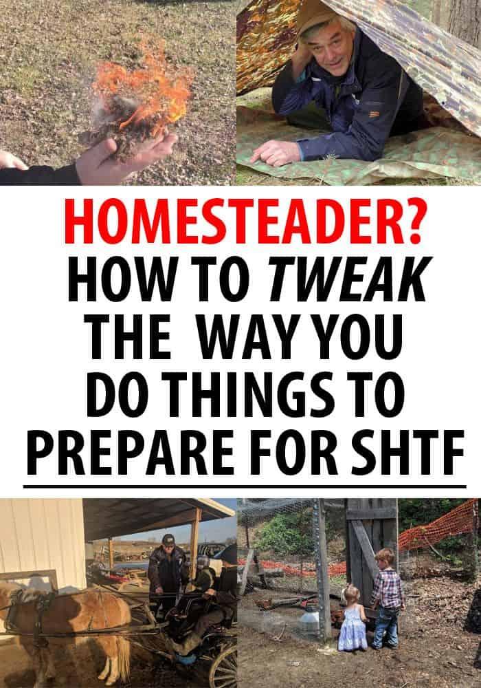homesteaders prepare shtf pinterest