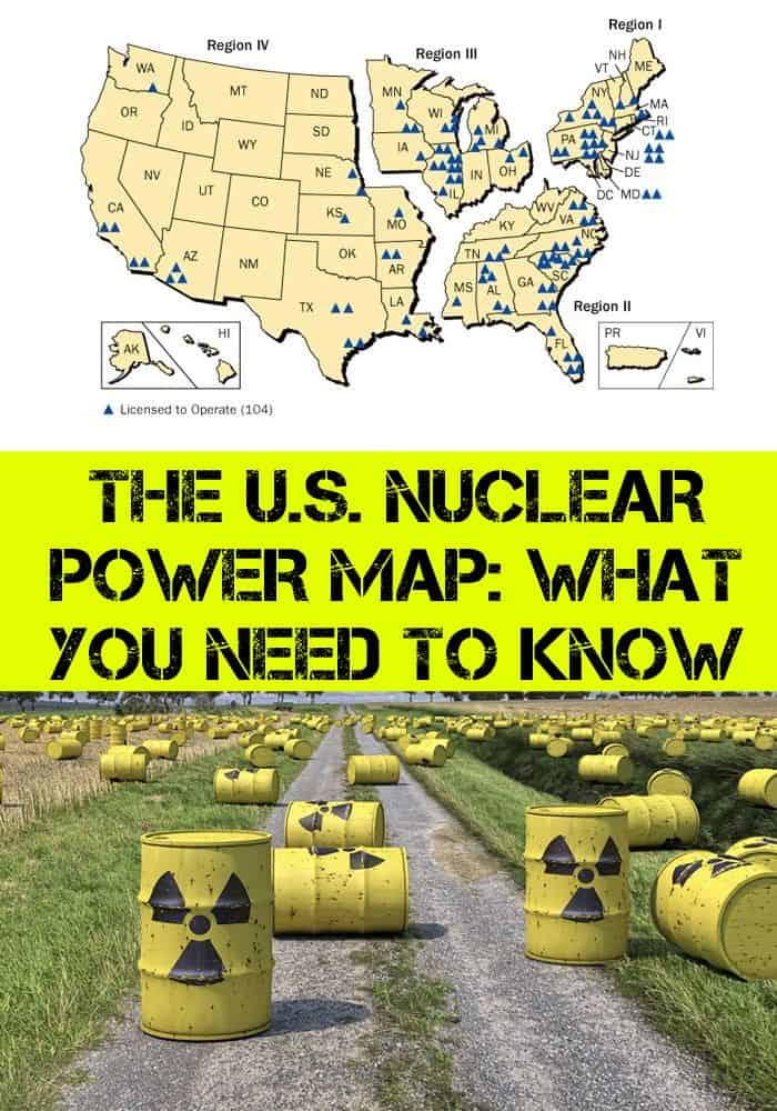 us nuclear map pinterest