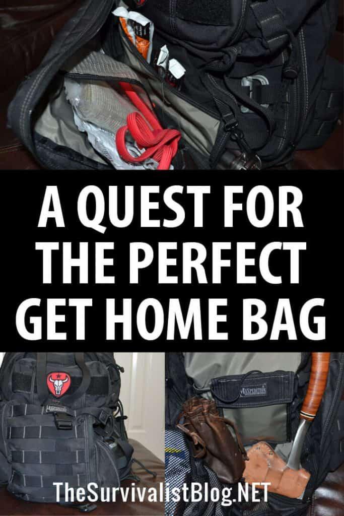 get home bag pinterest
