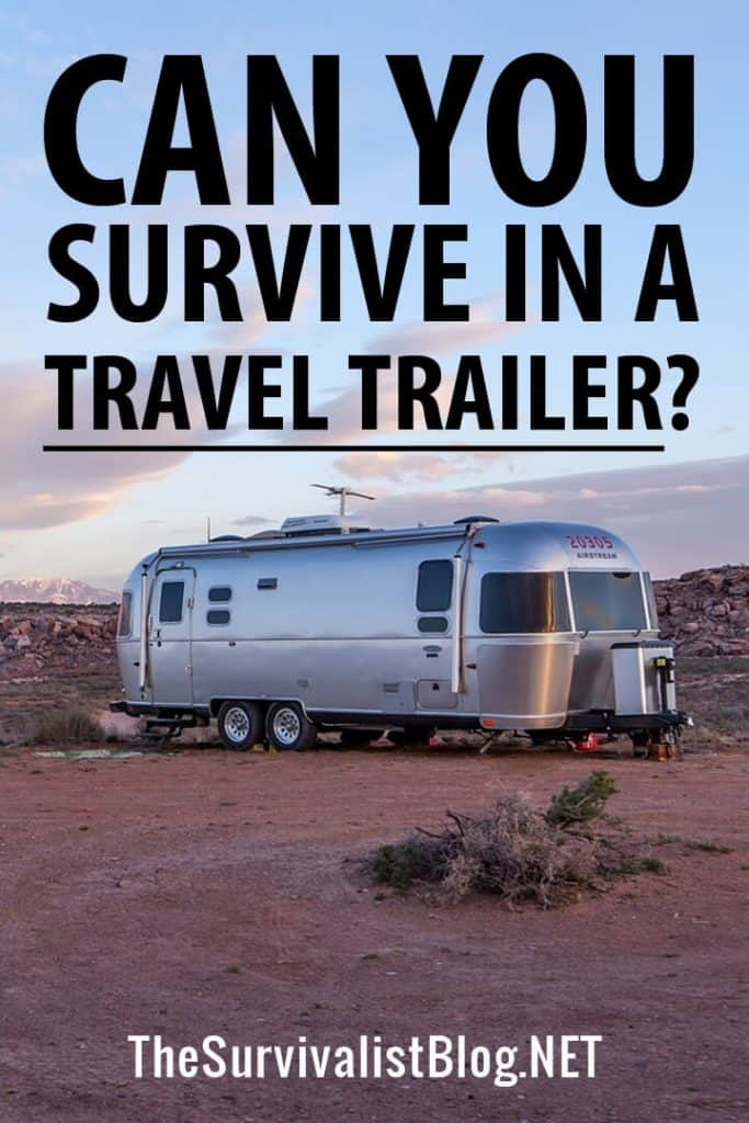 surviving a travel trailer pinterest