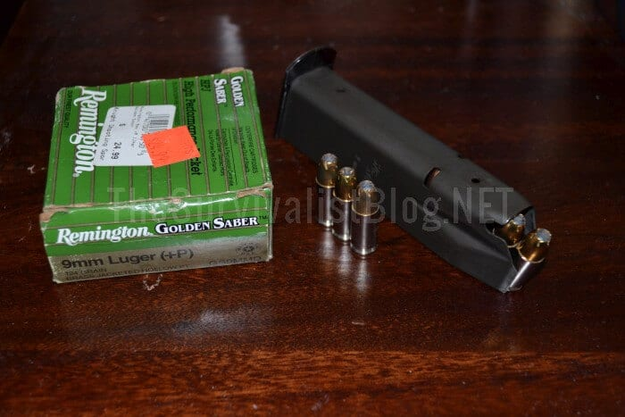 Ammo, Remington Golden Saber +P