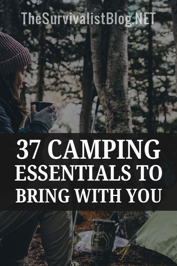 camping essentials Pinterest