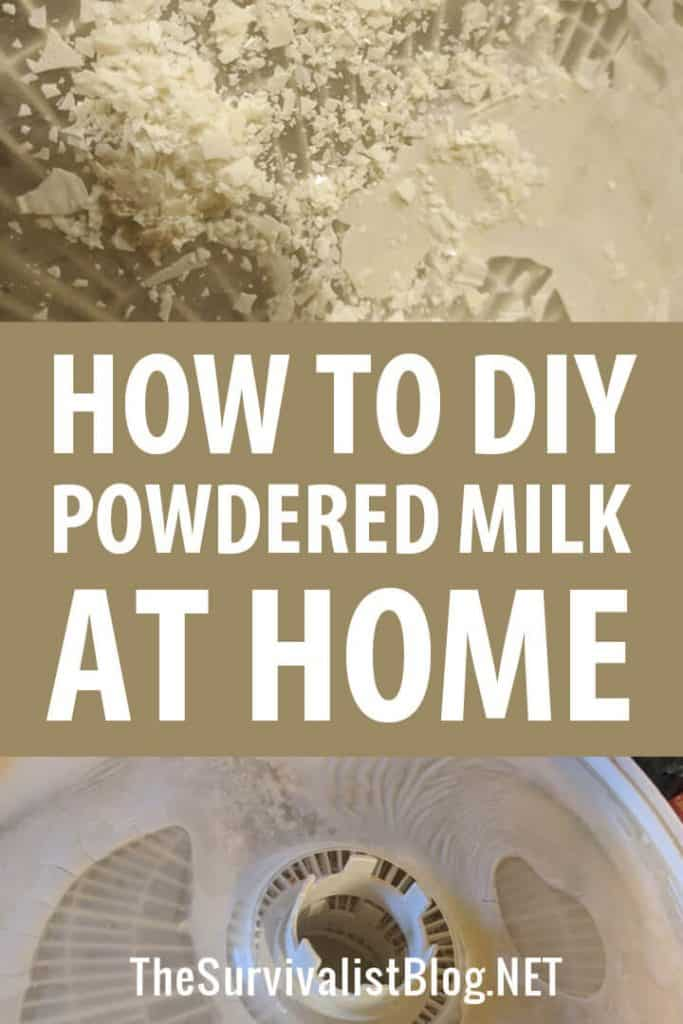 diy powdered milk