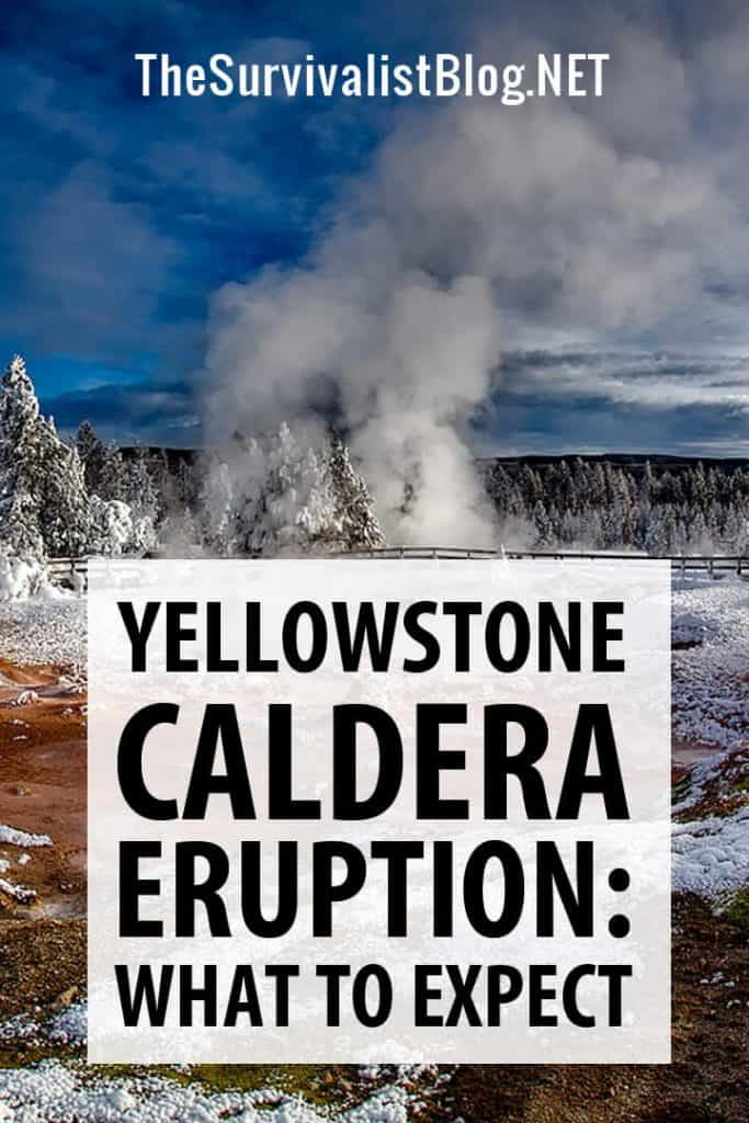 yellowstone eruption pinterest