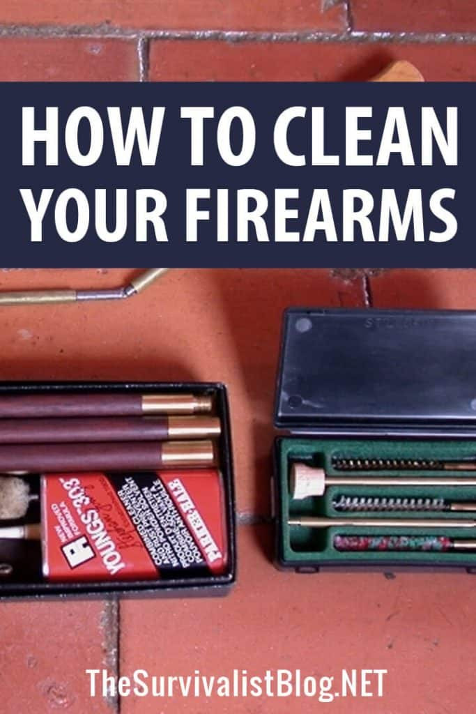 cleaning firearms pinterest image