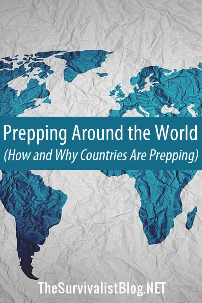 prepping around the world pinterest