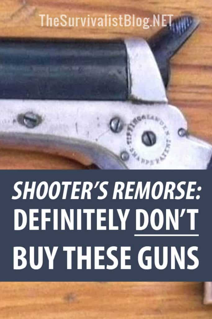 guns not to buy Pinterest image