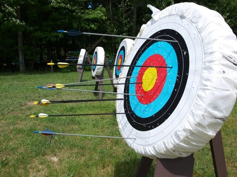 bow targets
