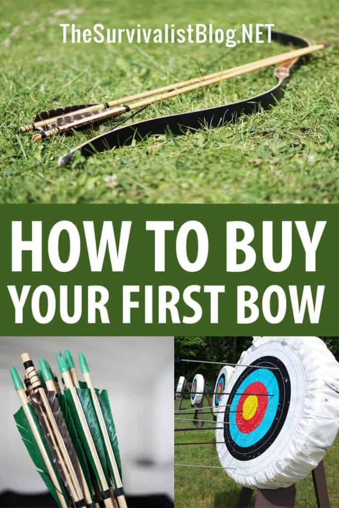 buying a bow Pinterest image
