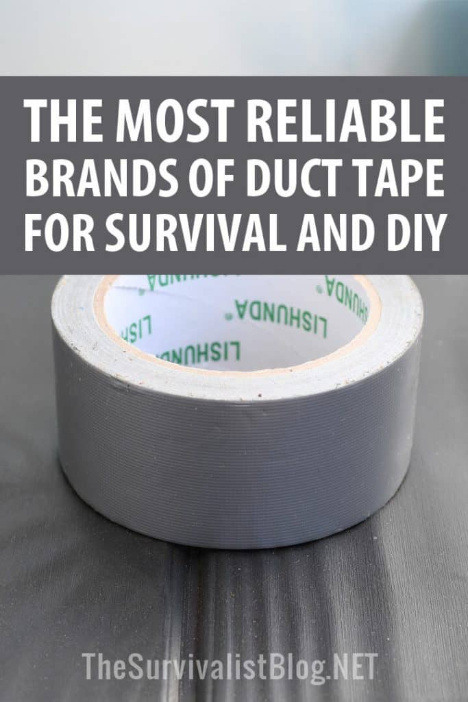 reliable duct tape brands Pinterest image