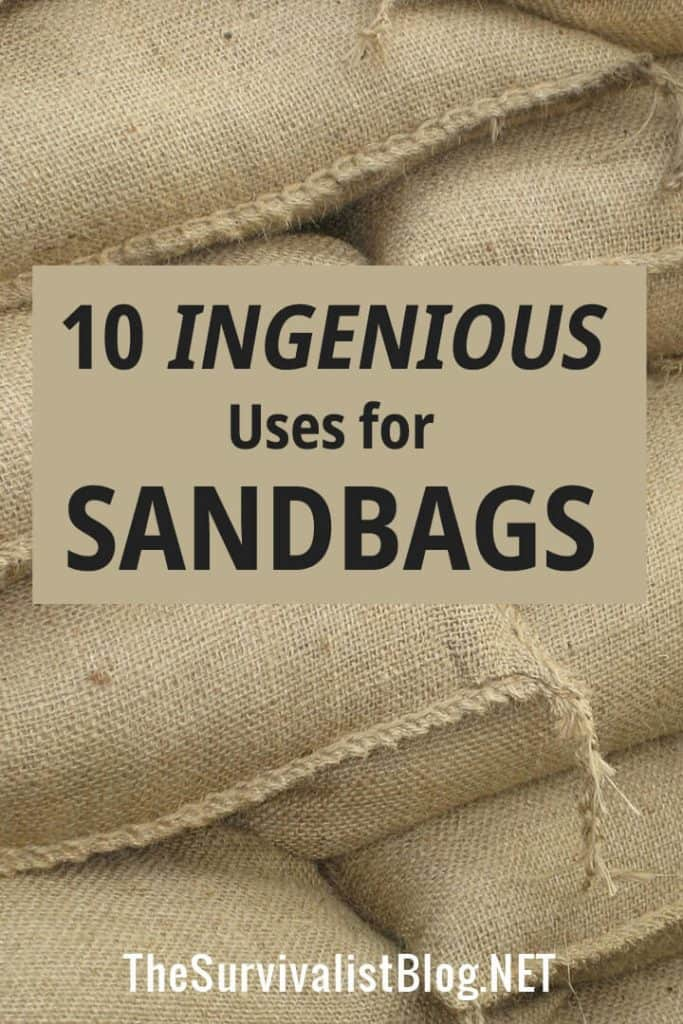 sandbag uses Pinterest image