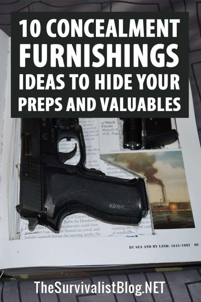 concealment furniture Pinterest image