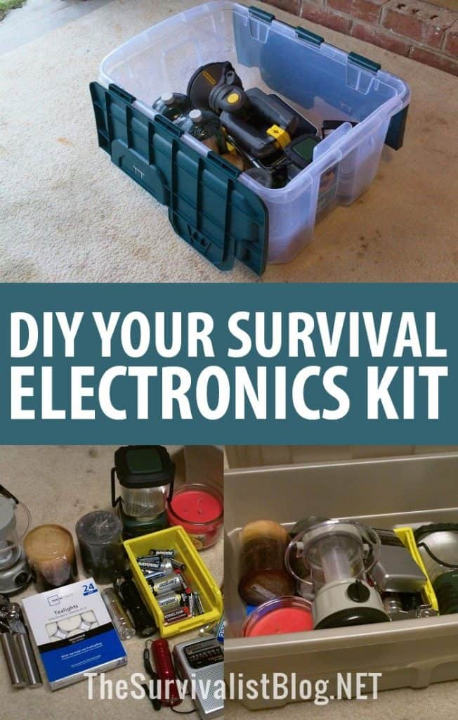 DIY electronics kit pinterest