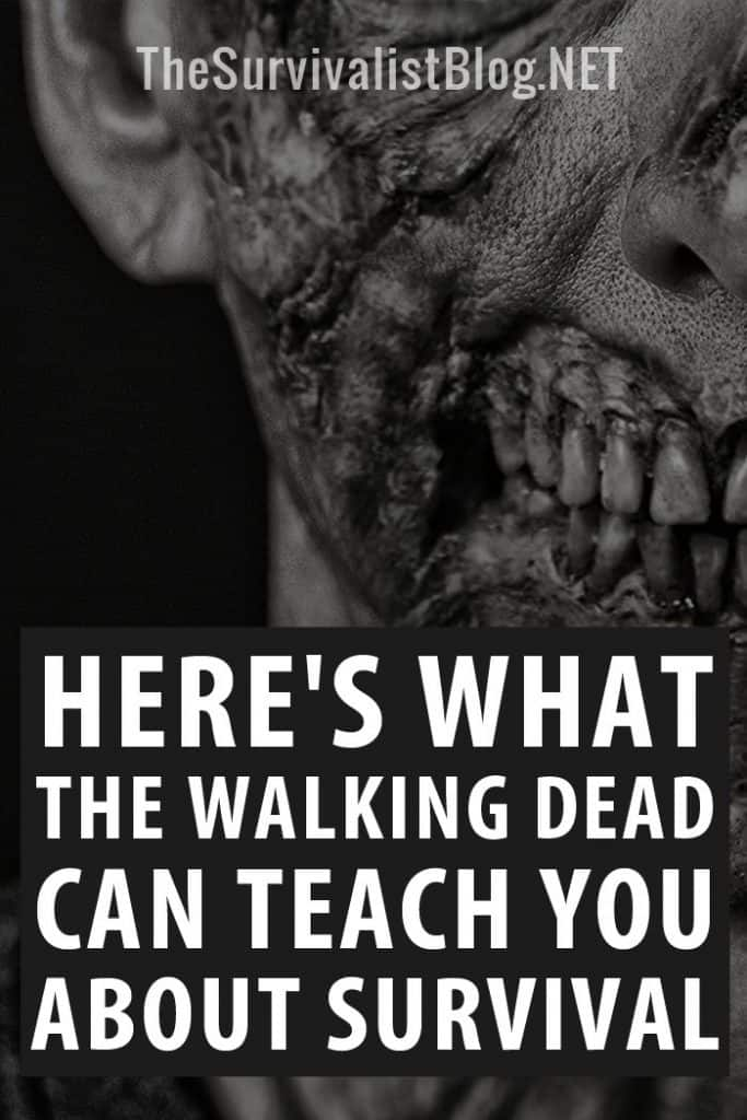 the Walking Dead survival lessons pinterest