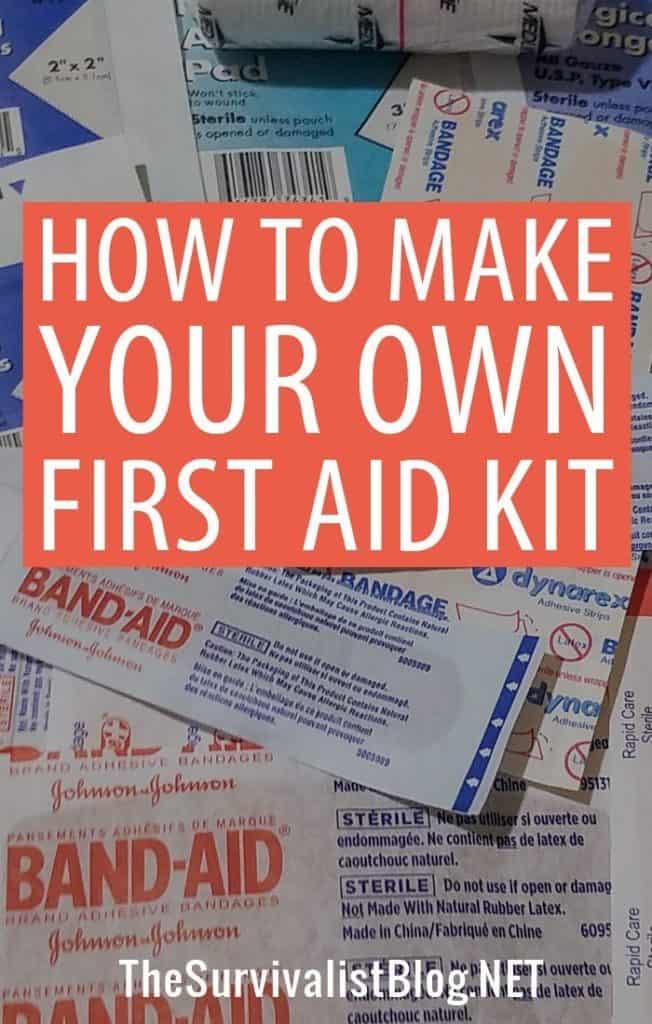 first aid kit pinterest