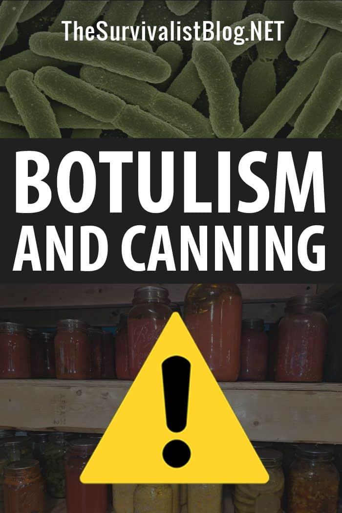 canning and botulism pinterest image #2