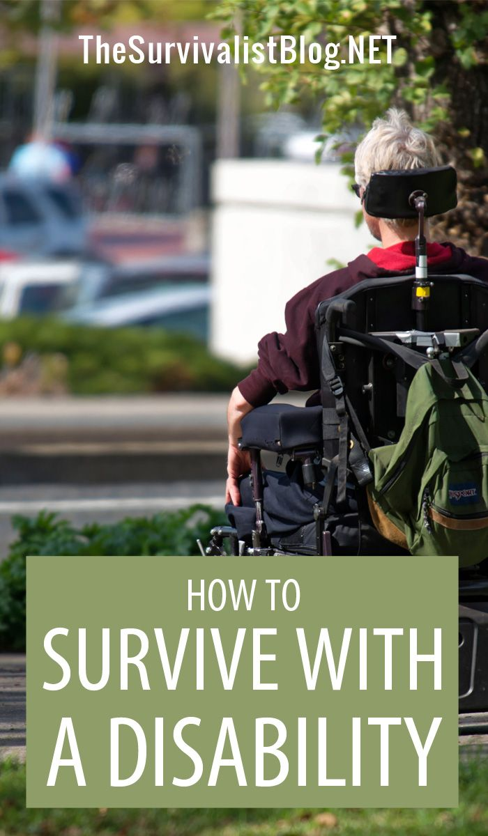 survive with disability pin