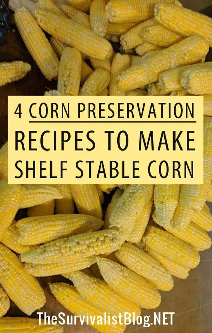 corn preservation Pinterest image