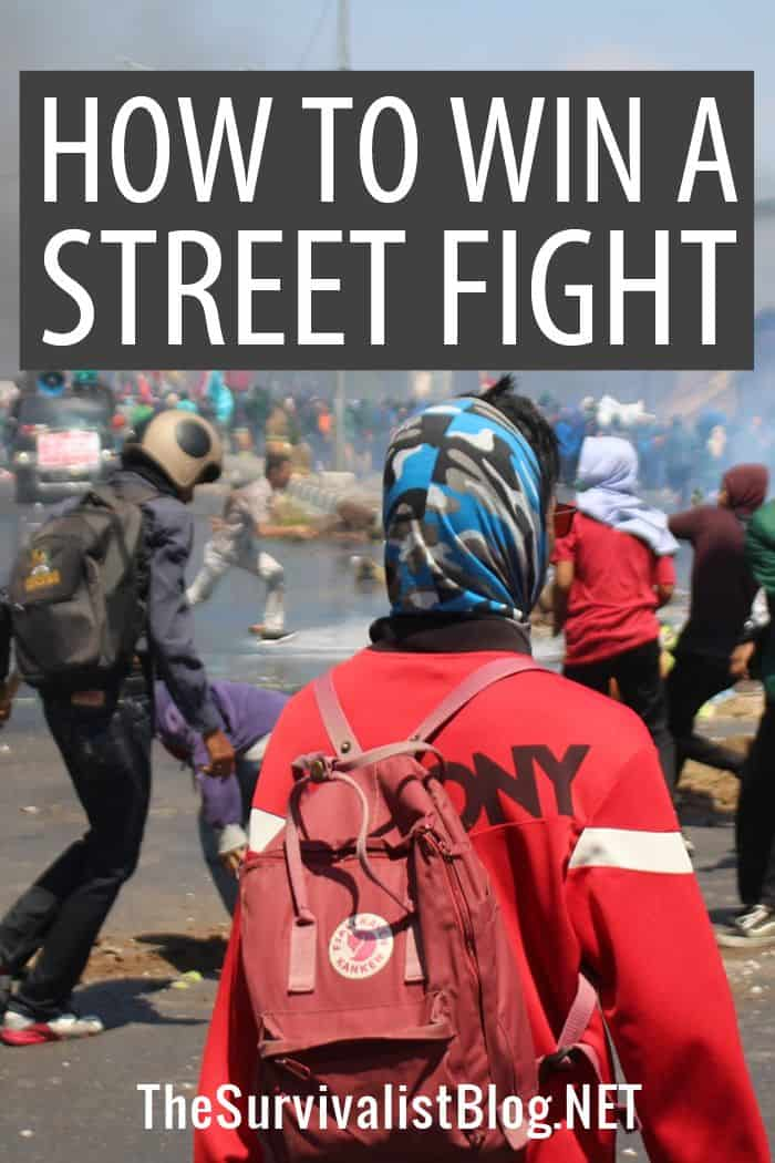 surviving a street fight Pinterest image