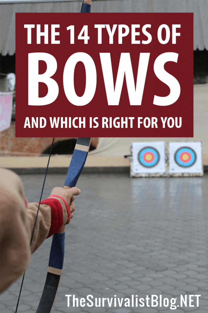 types of bows Pinterest image