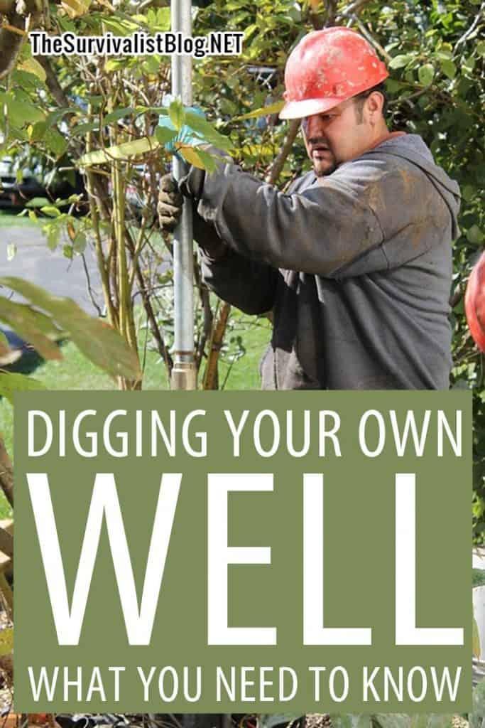 digging a well pinterest