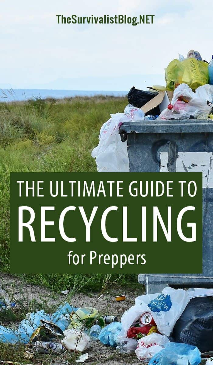 recycling guide Pinterest