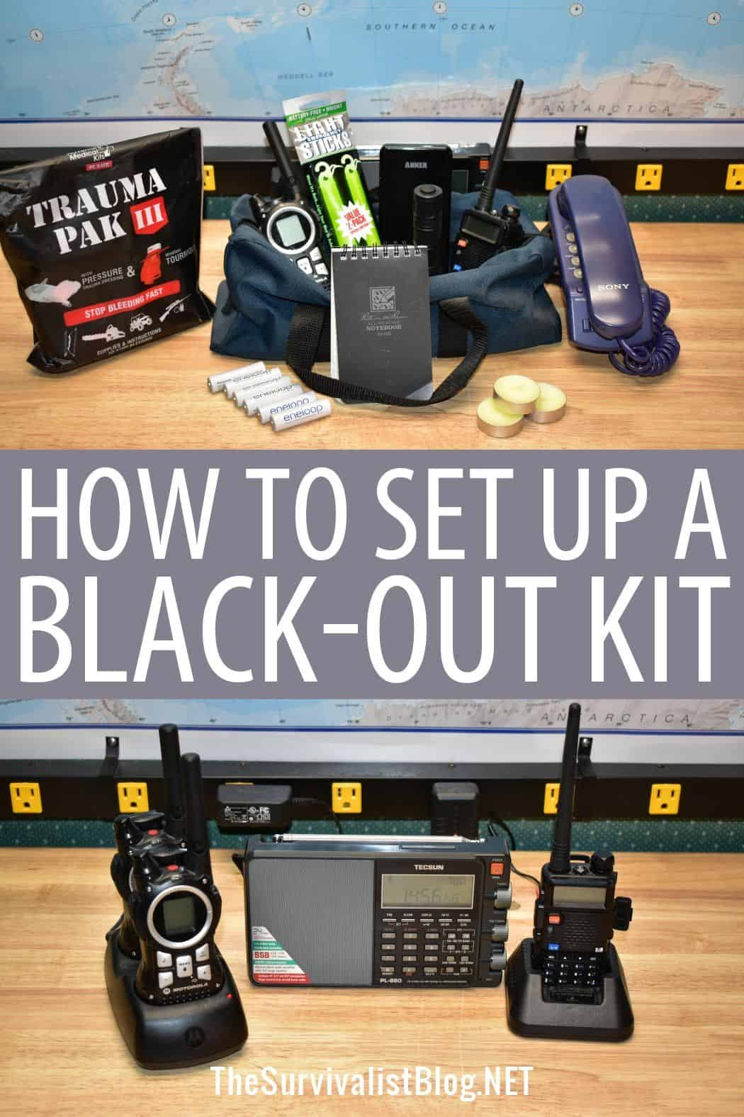 blackout kits pinterest
