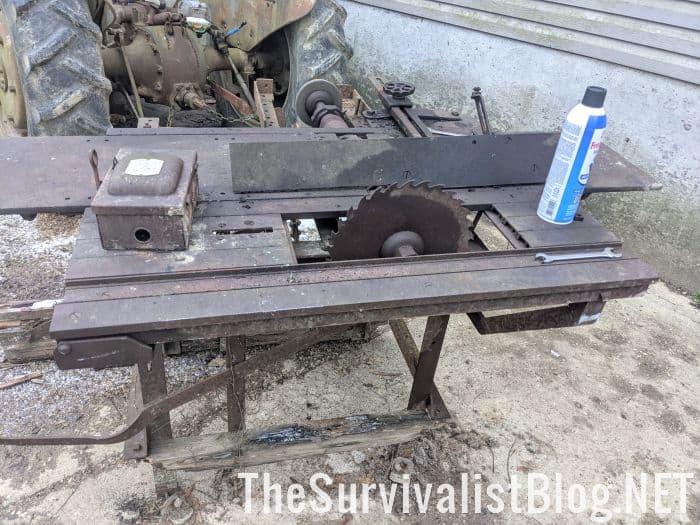 vintage wood planer