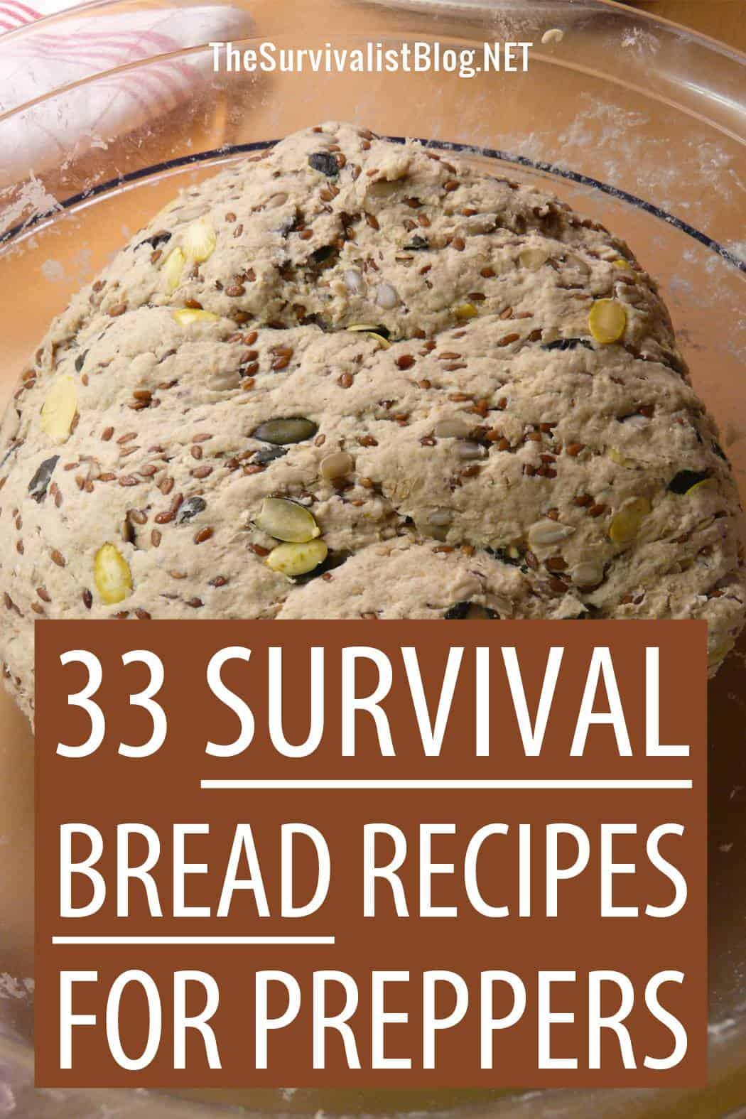survival bread Pinterest image