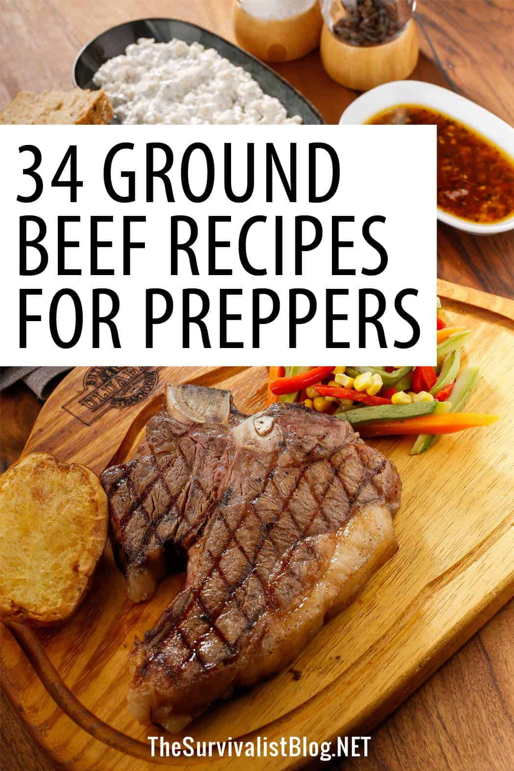 ground beef recipes Pinterest image