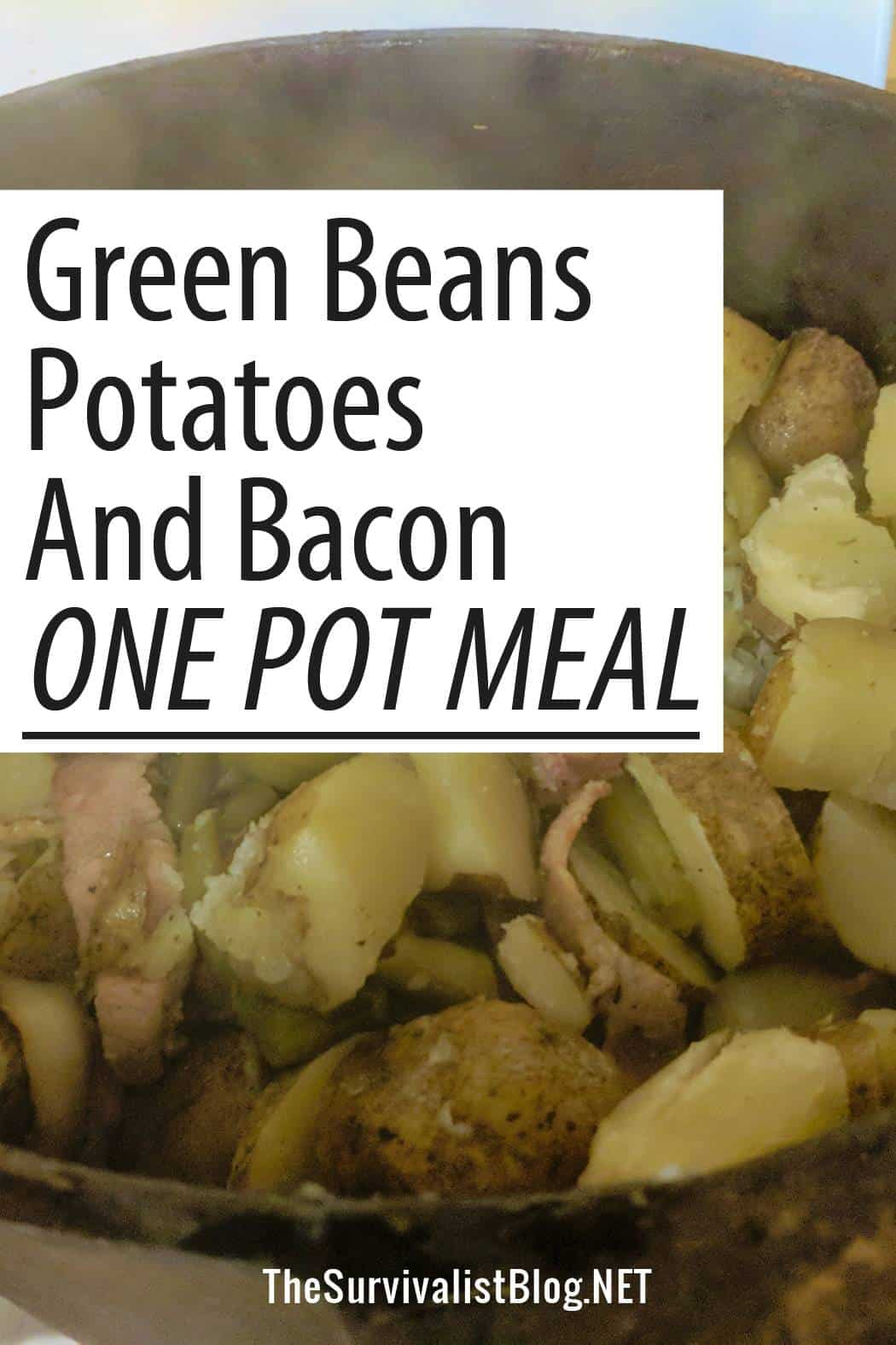 potatoes bacon one-pot-meal Pinterest