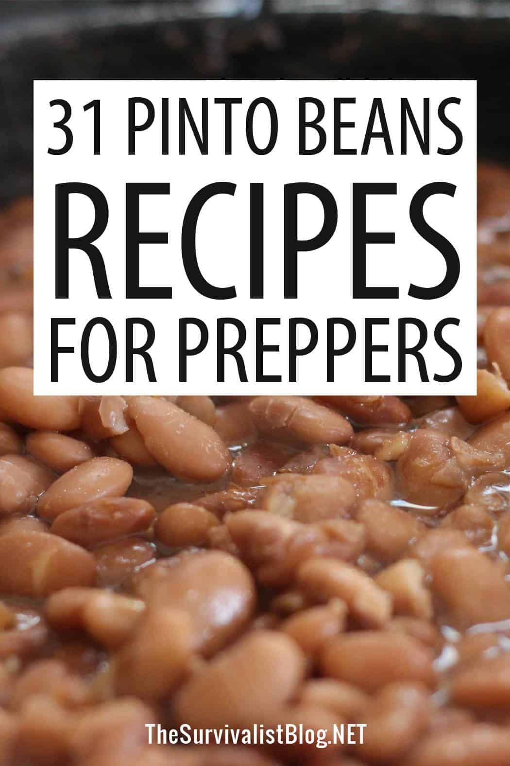 pinto beans recipes Pinterest image