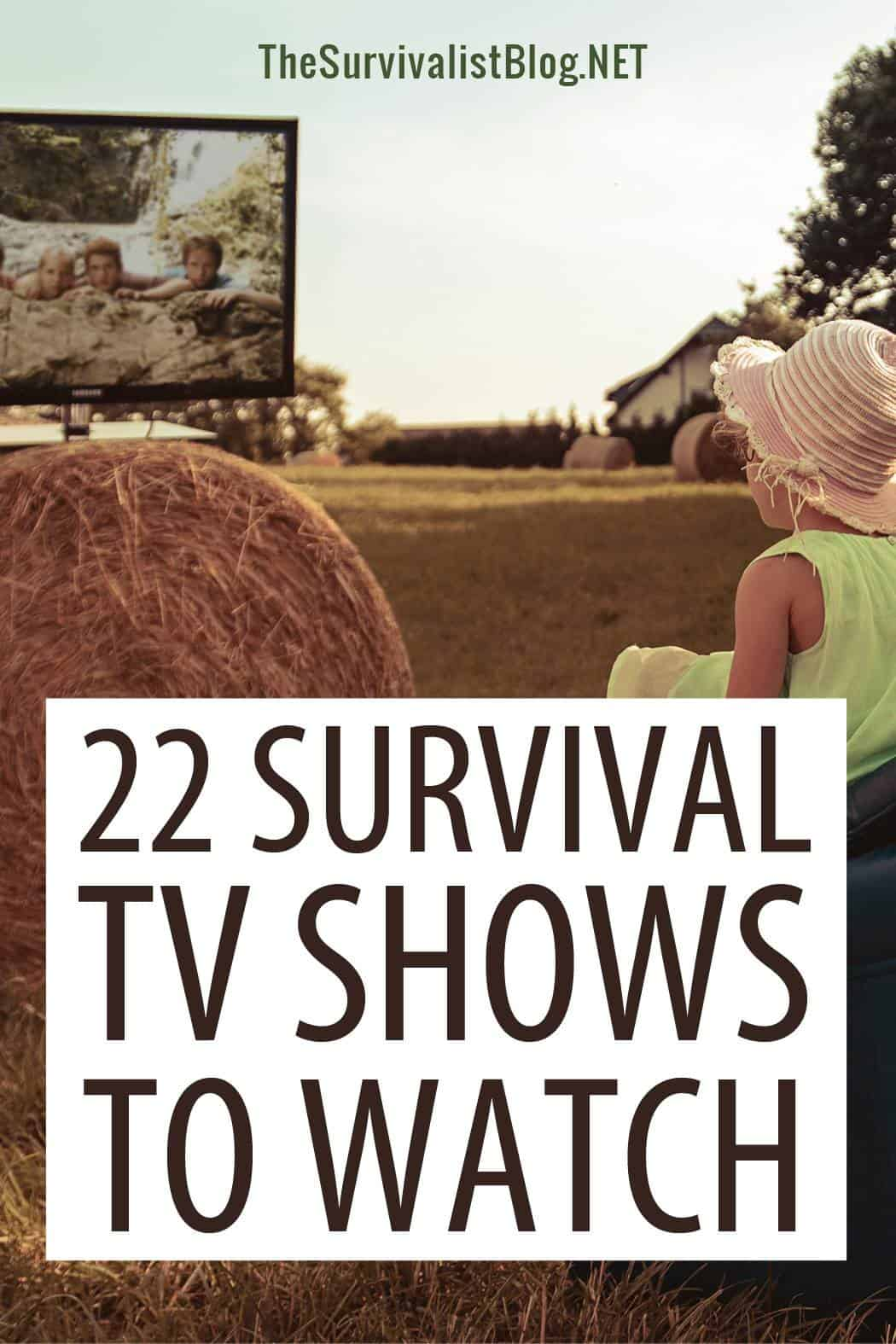 survival TV shows Pinterest