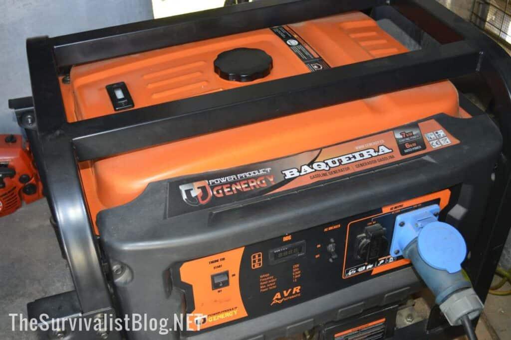 Baquieira gasoline generator